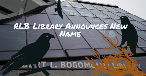 RLB Library Announces New Name