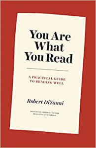 """Cover of """"You Are what You Read"""""""