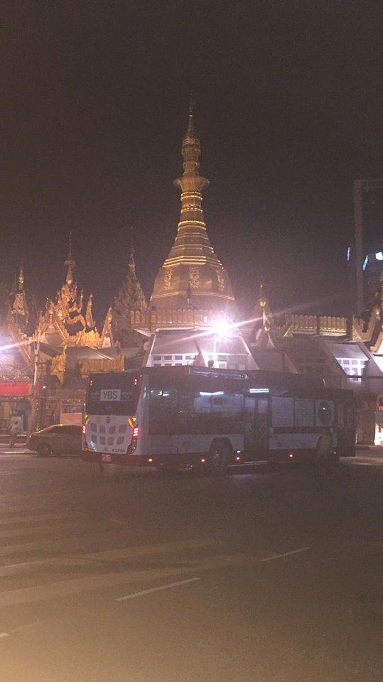 An evening in Yangon