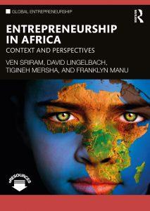 Cover of book titled Entrepreneurship in Africa