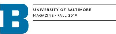 The University of Baltimore Magazine 2019